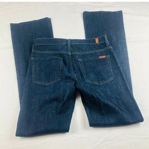 7 for all mankind high rise boot cut jeans size 28